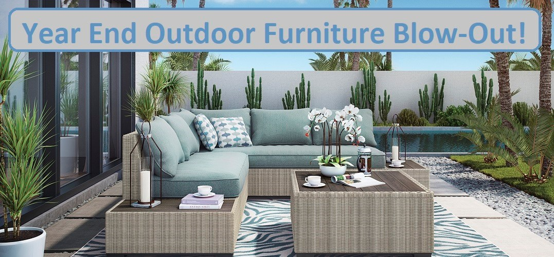 Ashley Silent Brook collection, Outdoor Furniture, outdoor sectional sofa