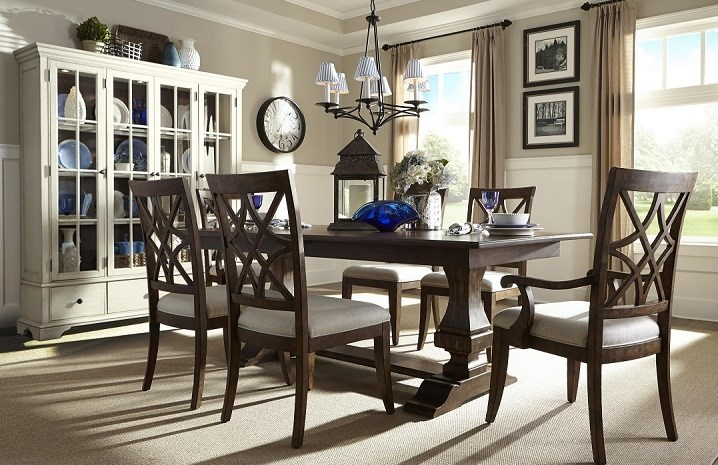 Trisha Yearwood Home Collection, 920 Dining Room Set, Dining Set, Table And  Chairs ...
