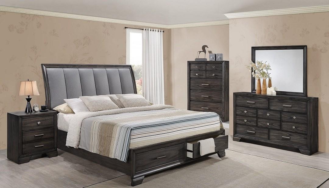Crown Mark Jaymes Queen Bedroom set