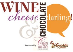 wine cheese and chocolate event