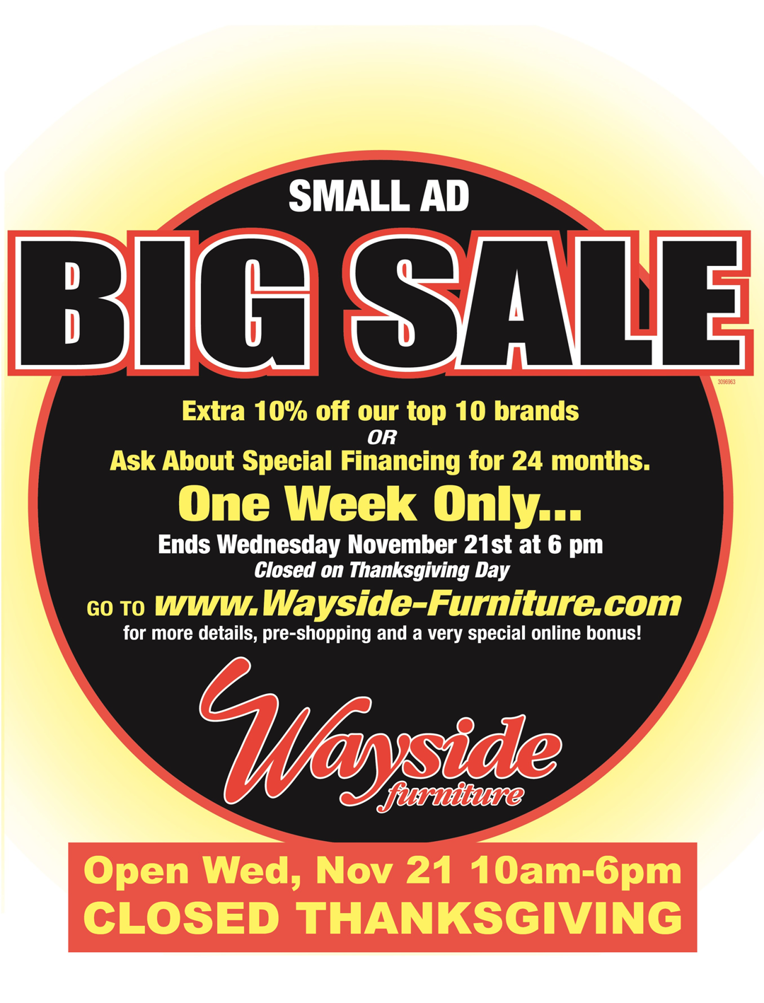 Bon Small Ad Big Sale
