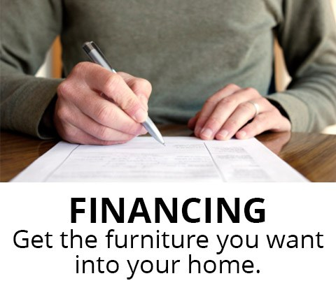 Financing: Get the furniture you want into your home. From Bullard Furniture