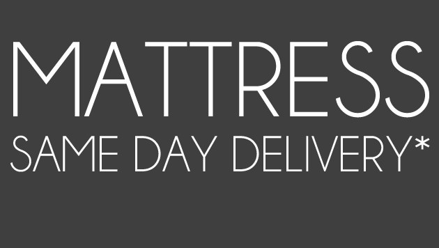 Same Day Delivery on Mattresses
