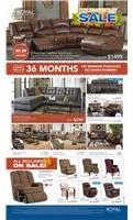 Columbus Day Furniture Sale