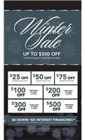 Winter Coupon Sale