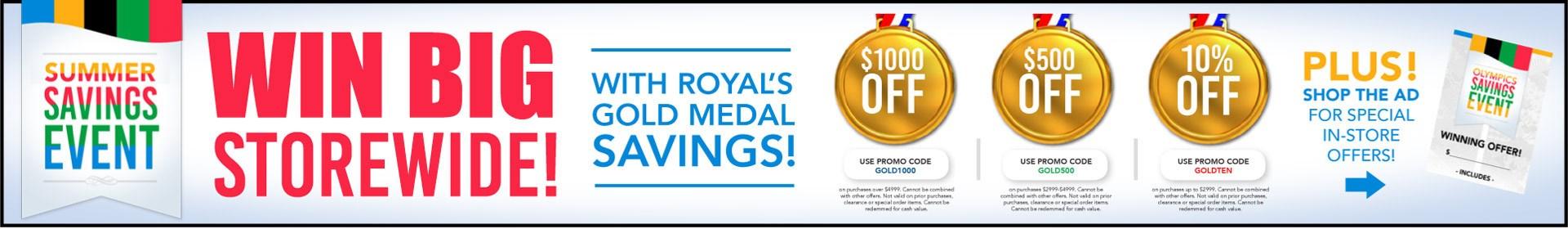Summer Savings at Royal Furniture