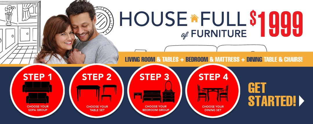 House Full of Furniture Package
