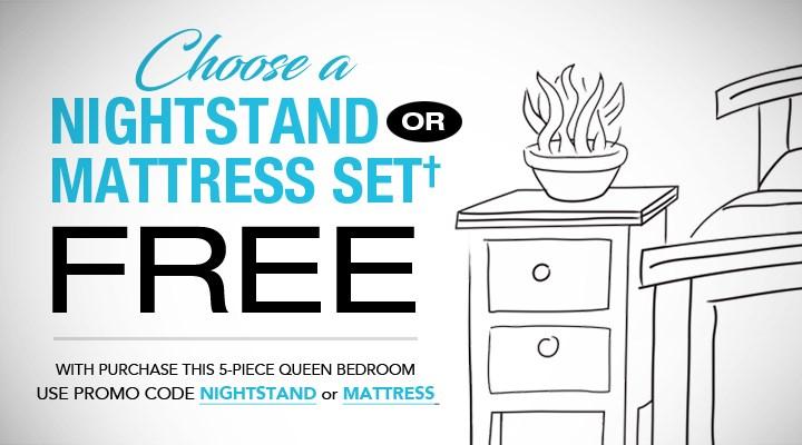 Free Nightstand or Free Mattress