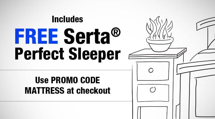 Free Serta Mattress