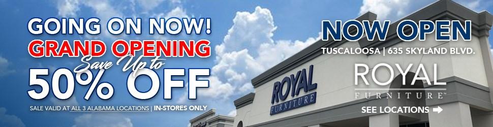 Alabama Royal Furniture Grand Opening Sale