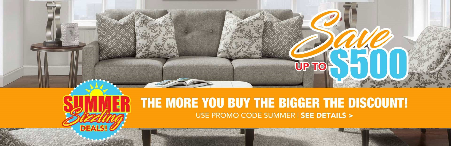 Buy More Save More Summer Sizzler