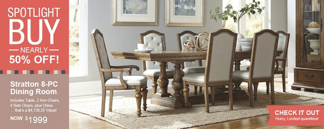 Stratton Dining Room by Pulaski at Royal Furniture