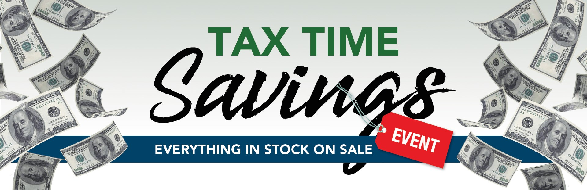 Tax Time Sale