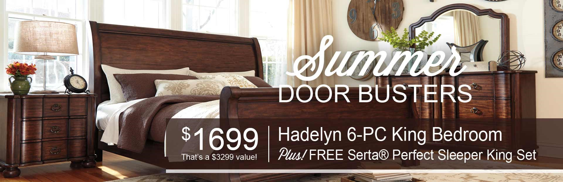 Hadelyn King Bedroom from Ashley Furniture