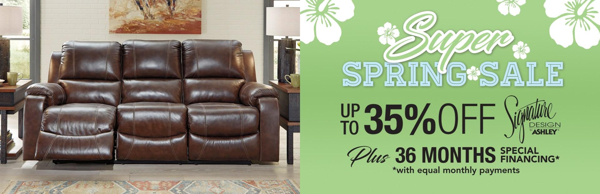 Super Spring Savings
