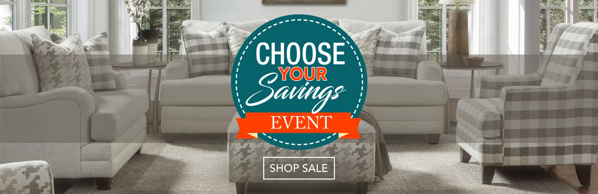Choose Your Savings Sale