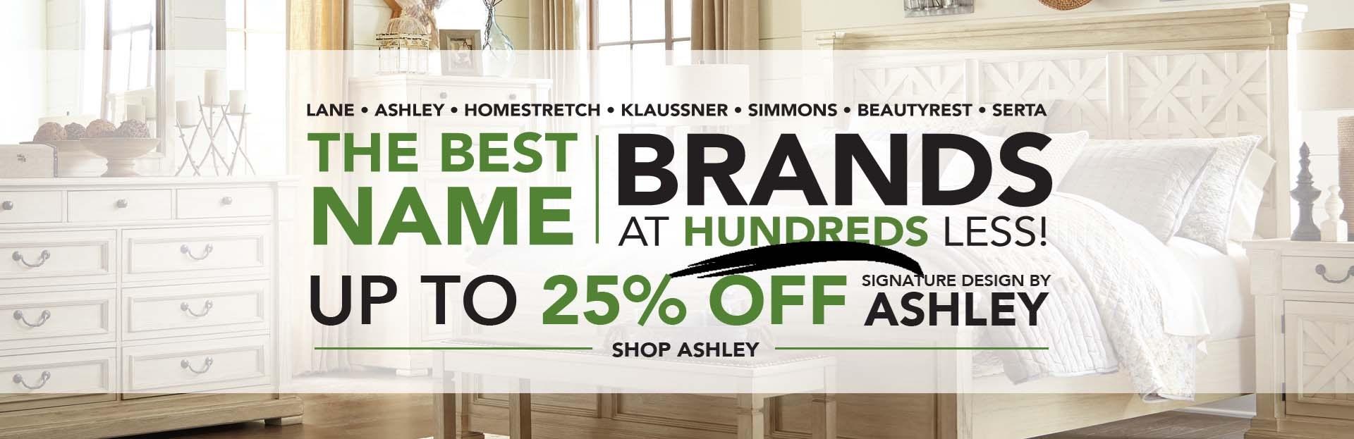 Sale on Ashley Furniture