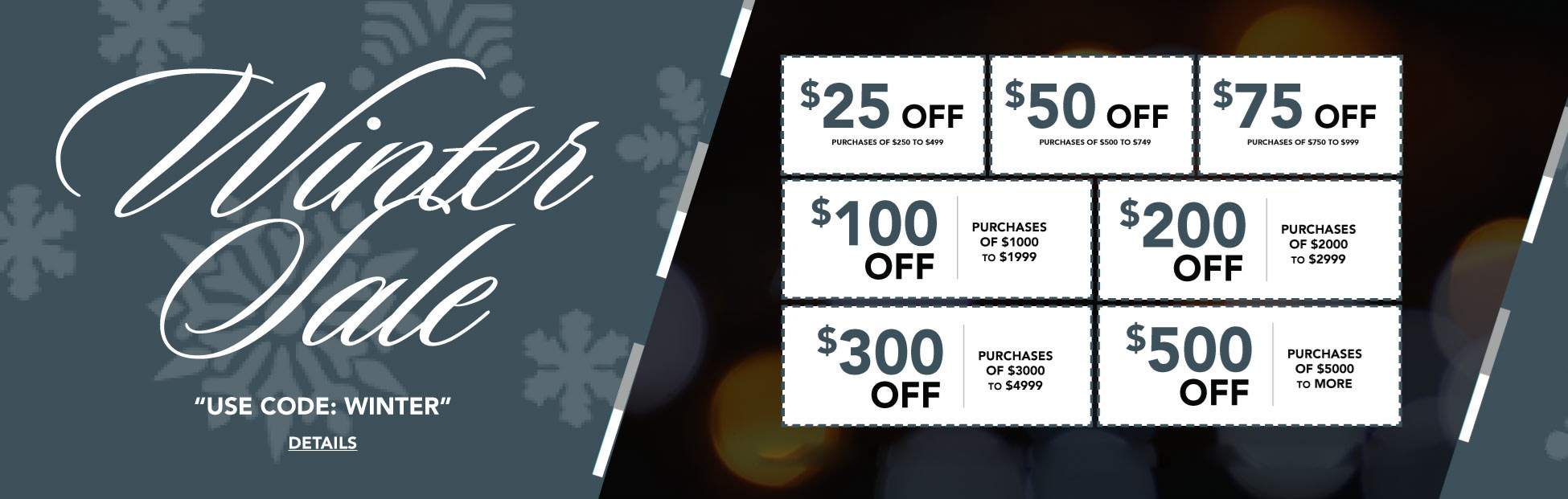 WINTER COUPONS