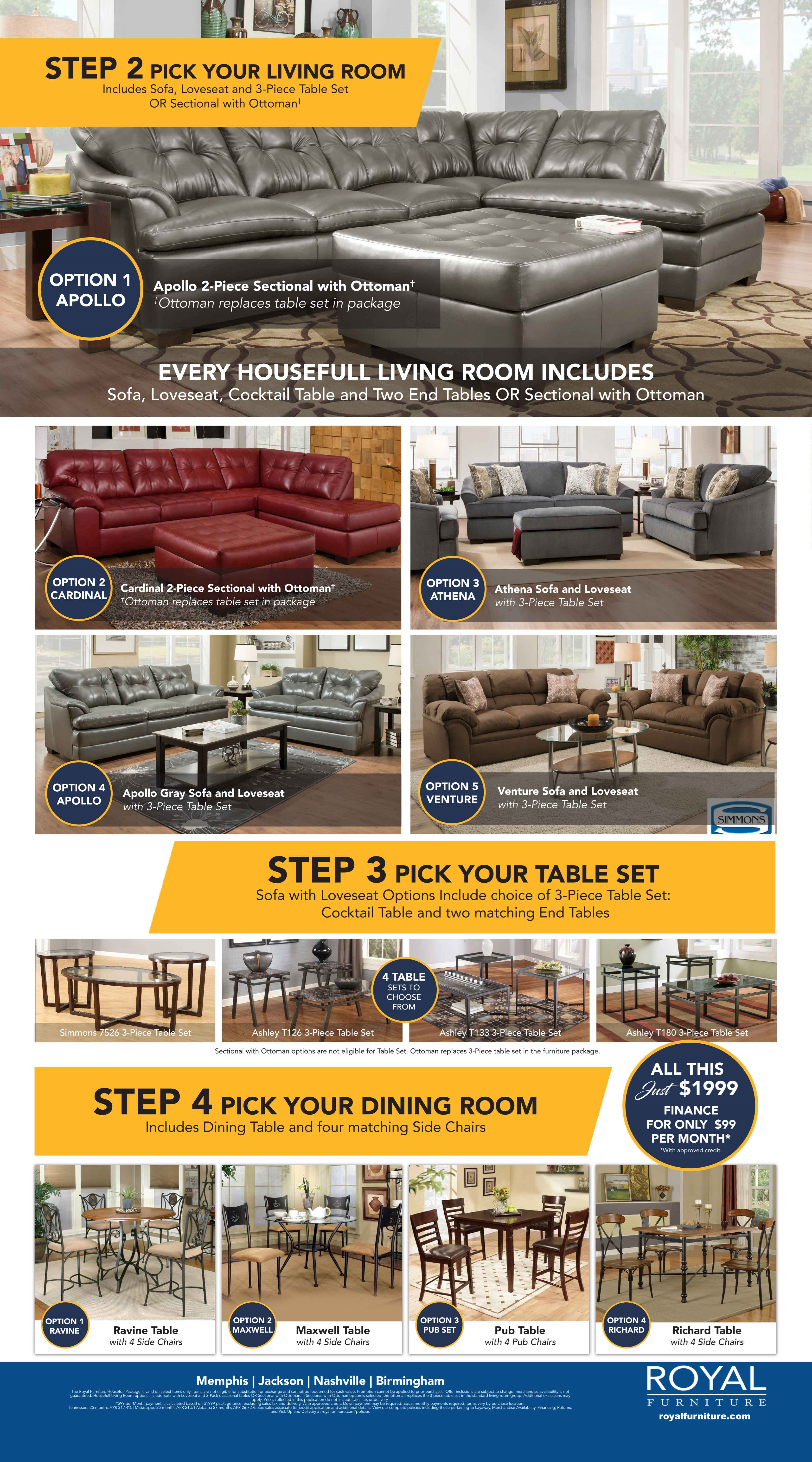 Housefull and Power Package Furniture Packages