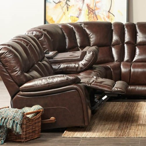 Leather Reclining Sofas and Couches