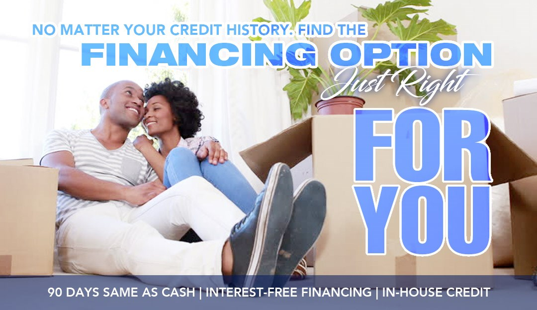 Furniture Financing for good, bad credit, no credit