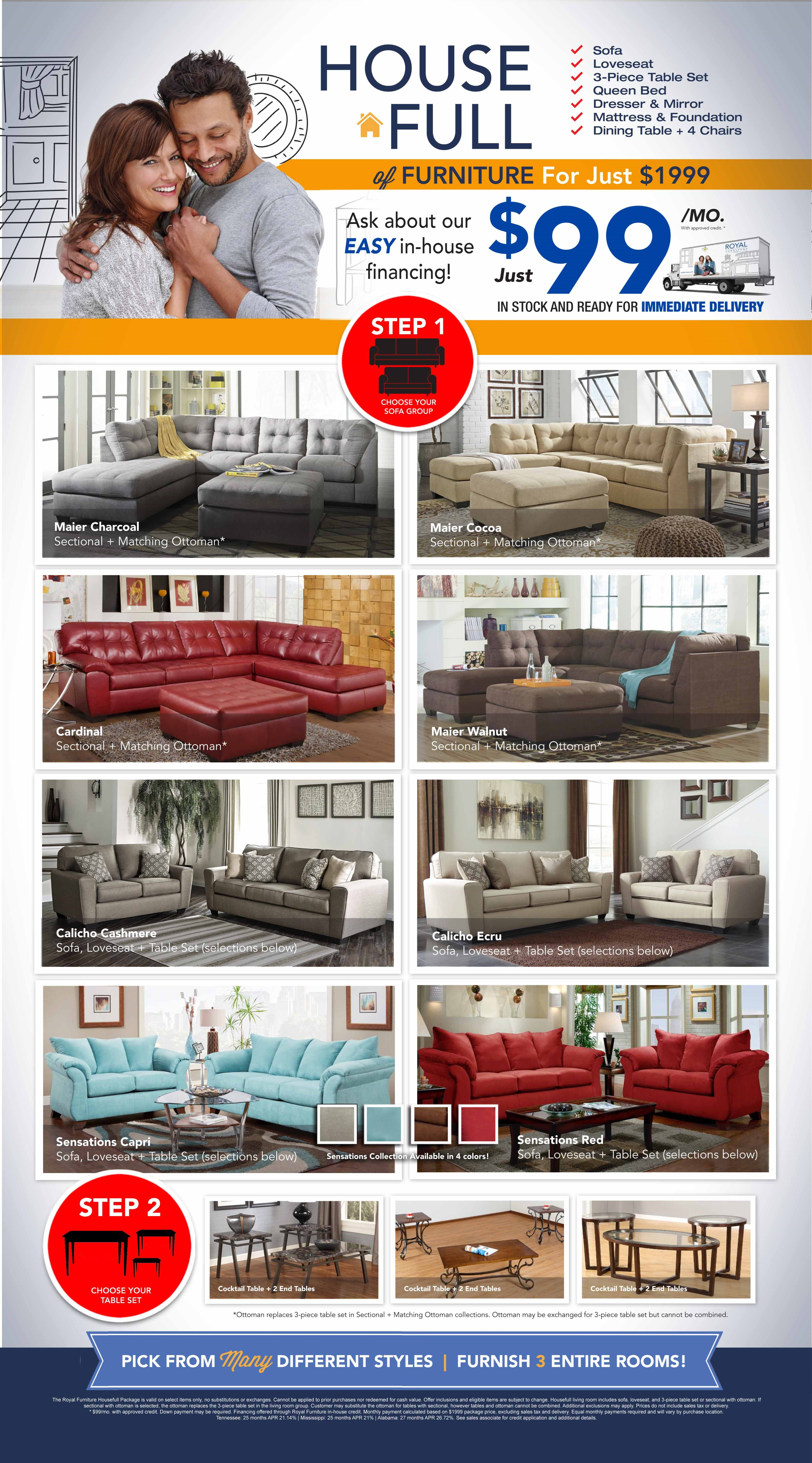 Royal House Full Furniture Package Royal Furniture Memphis Rh  Royalfurniture Com