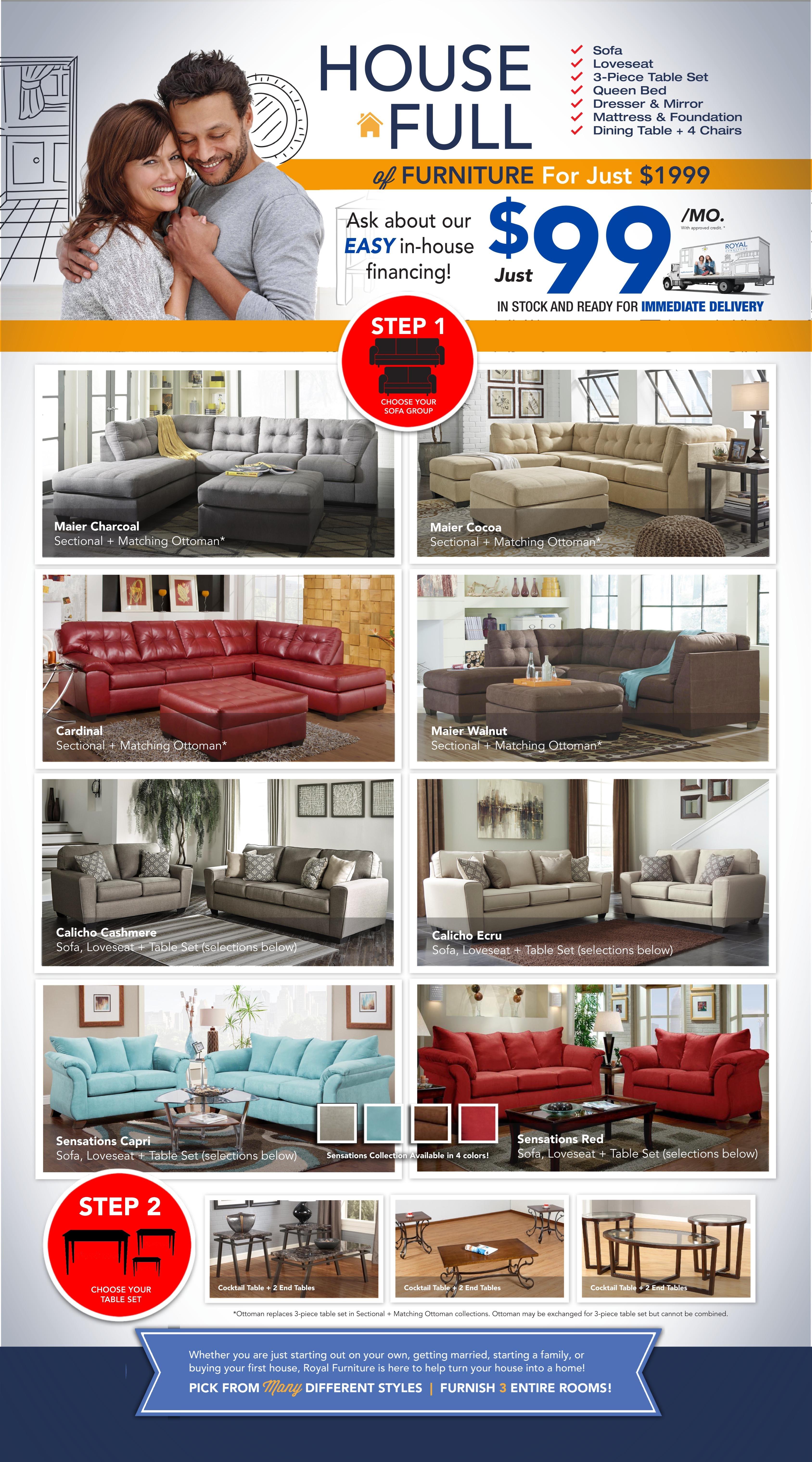 House Full Furniture Package. Royal House Full Furniture Package   Royal Furniture   Memphis