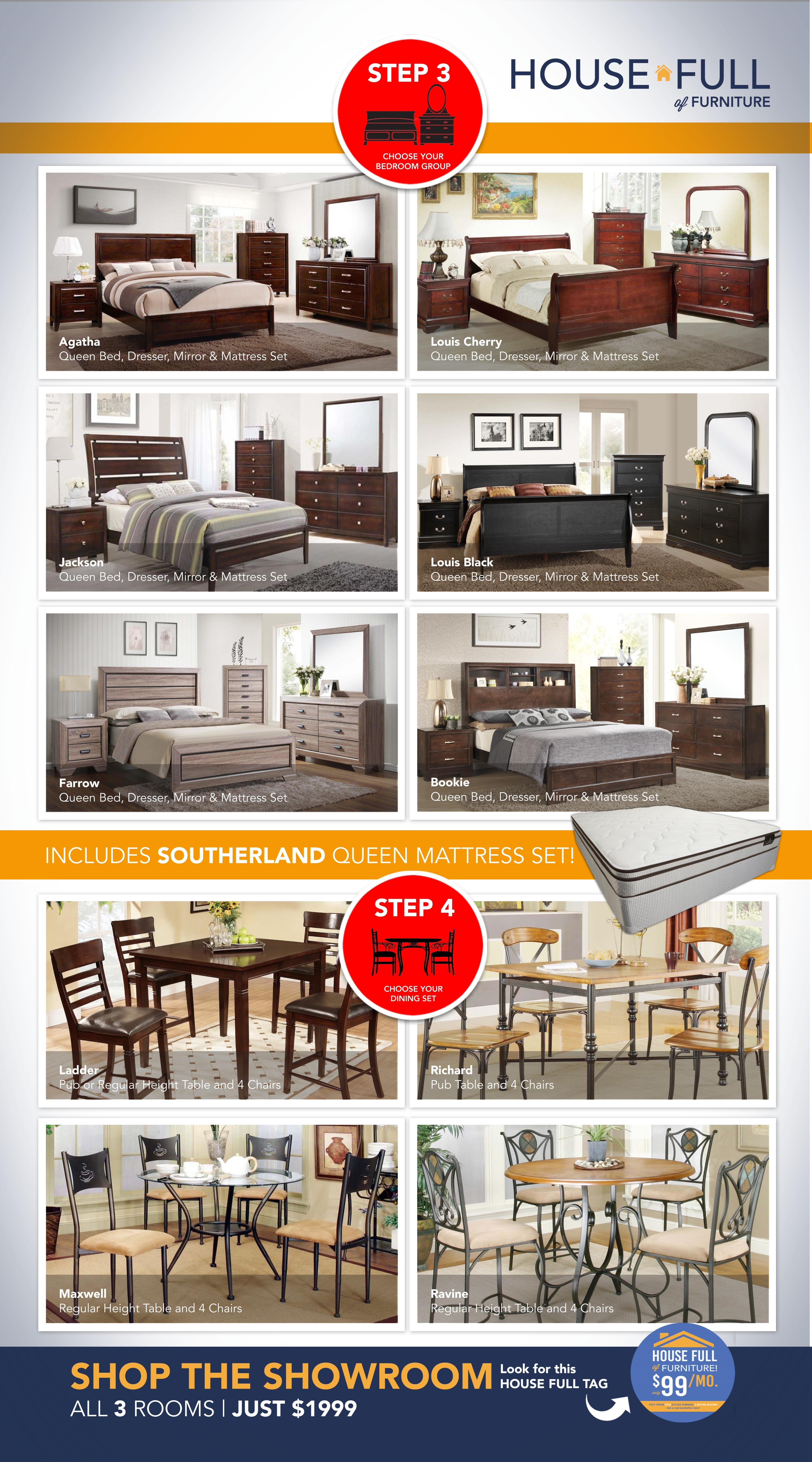 High Quality House Full Furniture Package HouseFull Of Furniture Packages