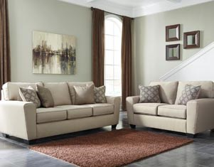 Living Room Couch, Loveseat Power Package