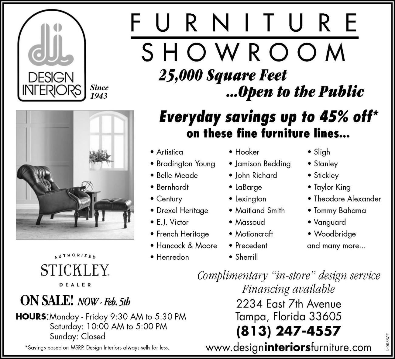 STICKLEY ON SALE NOW!