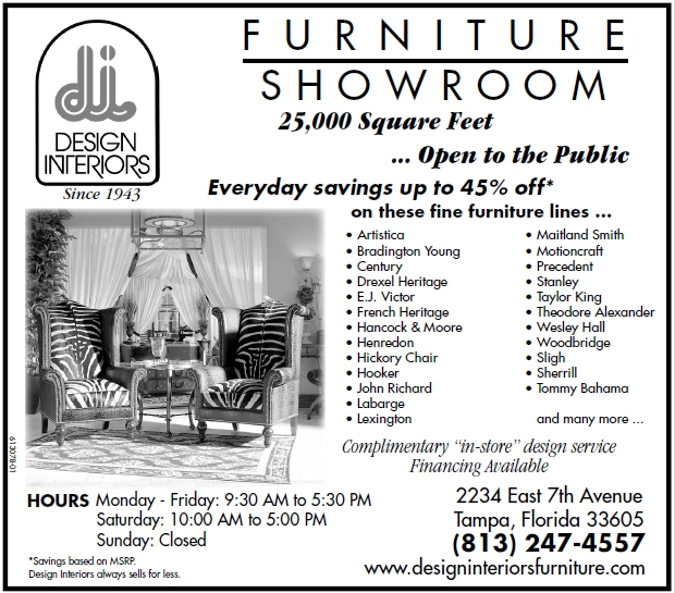 Shop Design Interiors For The Best Sales And Deals On Furniture In The  Tampa, St. Petersburg, Clearwater, Florida Area.