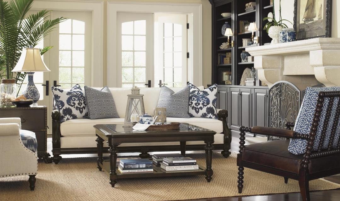 Island Traditions living room by Tommy Bahama