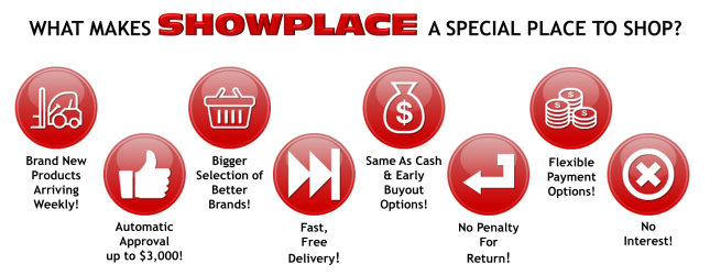 What makes Showplace a special place to shop?
