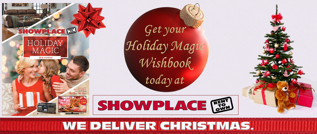 Get Your Holiday Magic Wishbook At Showplace
