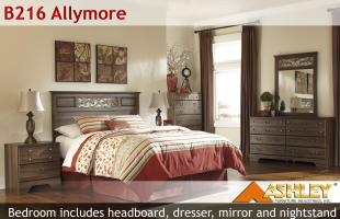 Ashley B216 Allymore Bedroom Set