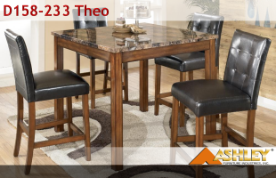 Ashley D158-233 Theo Dining Set