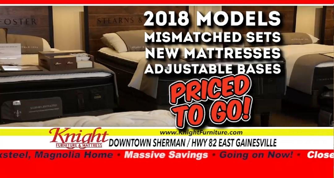 knight furniture & mattress   sherman, gainesville, texoma texas