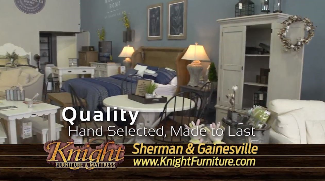 knight furniture mattress sherman gainesville texoma texas