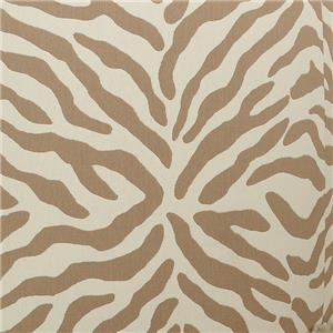 Uno Light Brown Zebra Fabric UNO Lt Brown