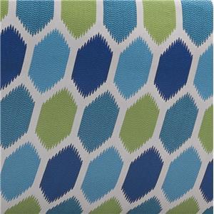 Turquoise O'Ikat Blocks-Turquoise