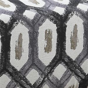Dark Grey Printed Fabric 902623