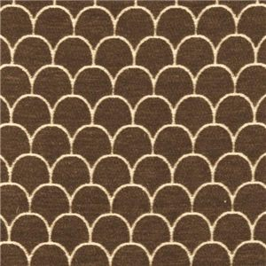 Brown Scalloped Pattern 784-70