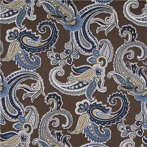 Brown and Blue Paisley AMS-70