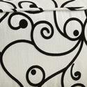 Black & White Swirl F2S
