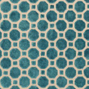Velvet Geo Turquoise Q103895
