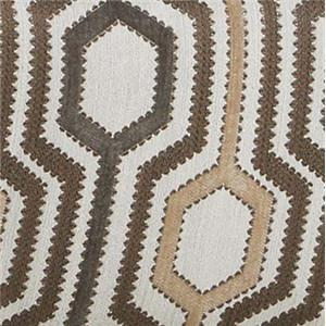 Lane 2015 Accent Swivel Chair in Contemporary Geometric Fabric