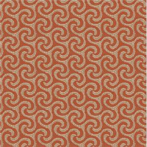 Orange Wave Print 4163-51