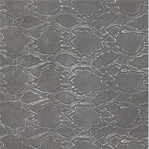 Gray Aniline Leather Snakeskin Embossed 9005-71
