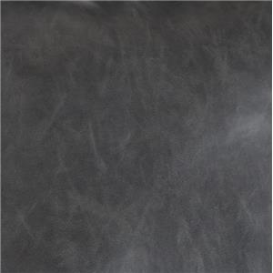 Dark Gray Faux Leather Tirolo-Dark Gray Faux Leather