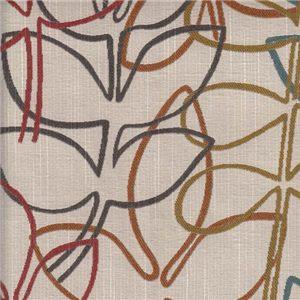 Multi-Color Leaf Print 360916